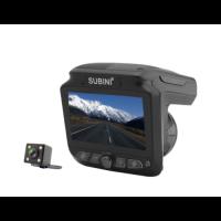 Видеорегистратор + радар-детектор + камера заднего вида SUBINI STR XT-5
