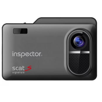 Видеорегистратор + радар-детектор INSPECTOR SCAT S Signature