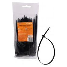 Хомуты кабельные AIRLINE 3,6*150 мм, пластиковые, черные, 100 шт. ACT-N-20