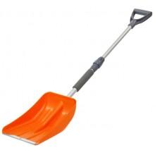 Лопата для очистки снега, телескопическая (110х24 см) AB-S-01