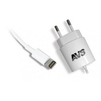 Сетевое зарядное устройство AVS для iphone 5/6 TIP - 511 (1,2A)