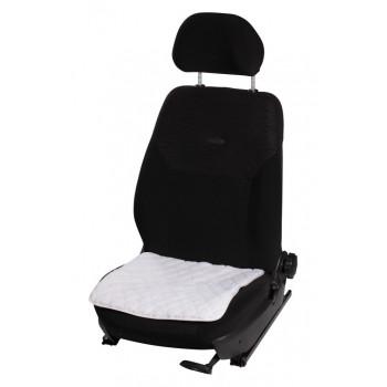 Накидка (подушка) из искусственного меха на сиденье, белая с коротким ворсом, 1 шт. AFC-A-01